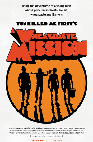 Image of 12 x 18 Wheatpaste Mission - Print