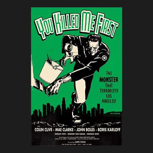 Image of 12 x 18 Frankenstein - Print
