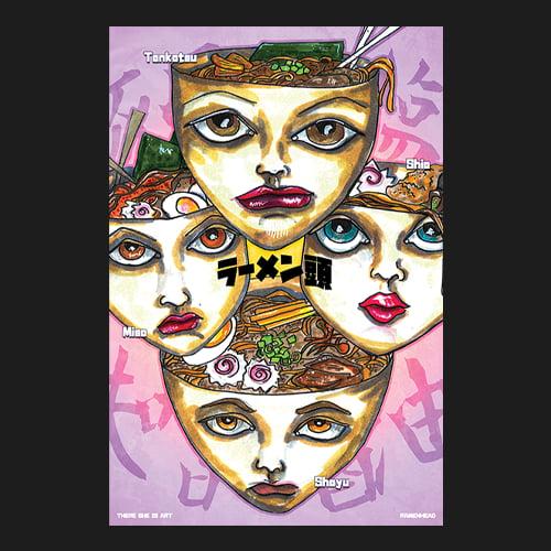 Image of 12x18 Ramenheads - Print