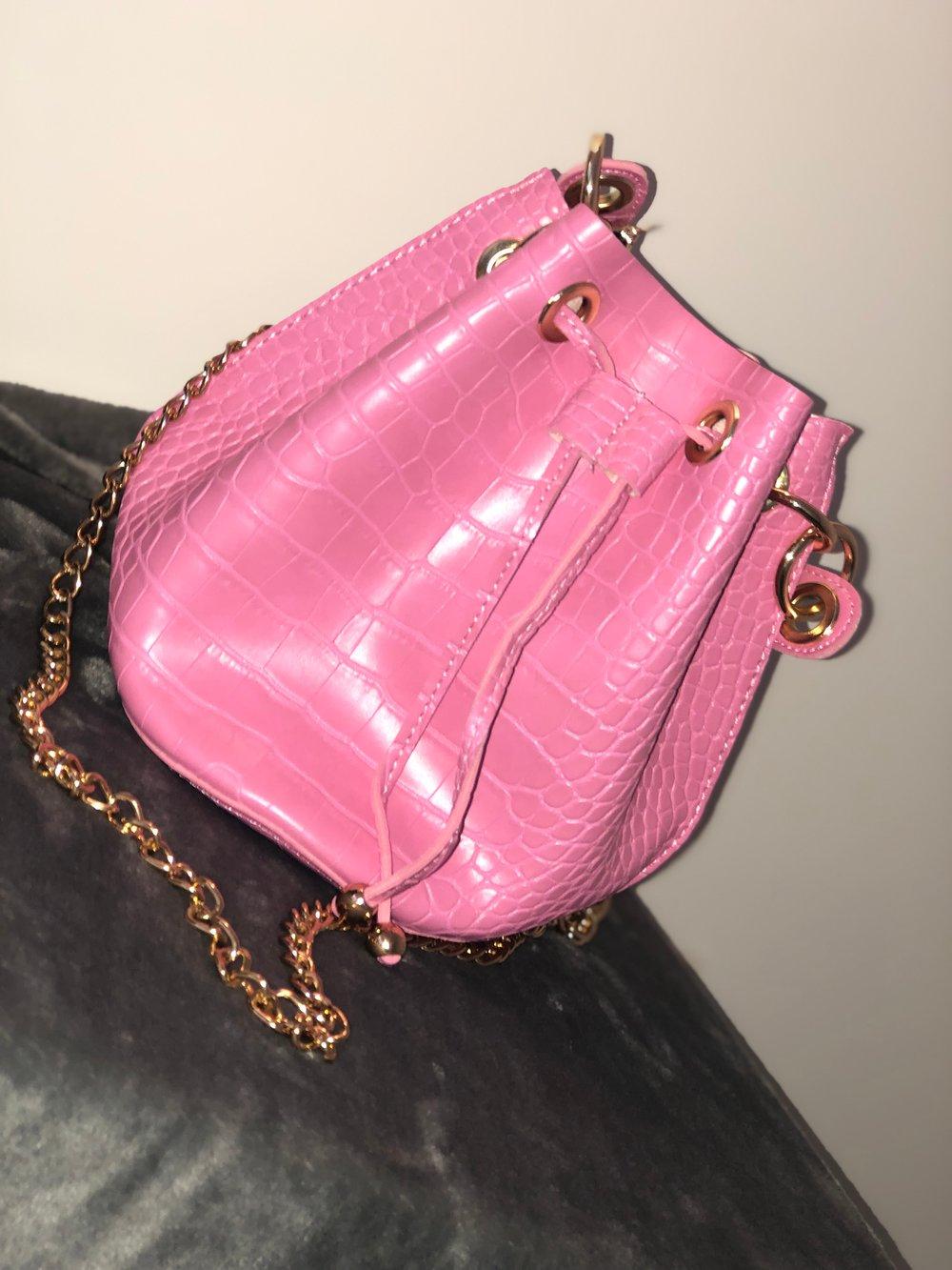 Image of Croc Bucket Bag