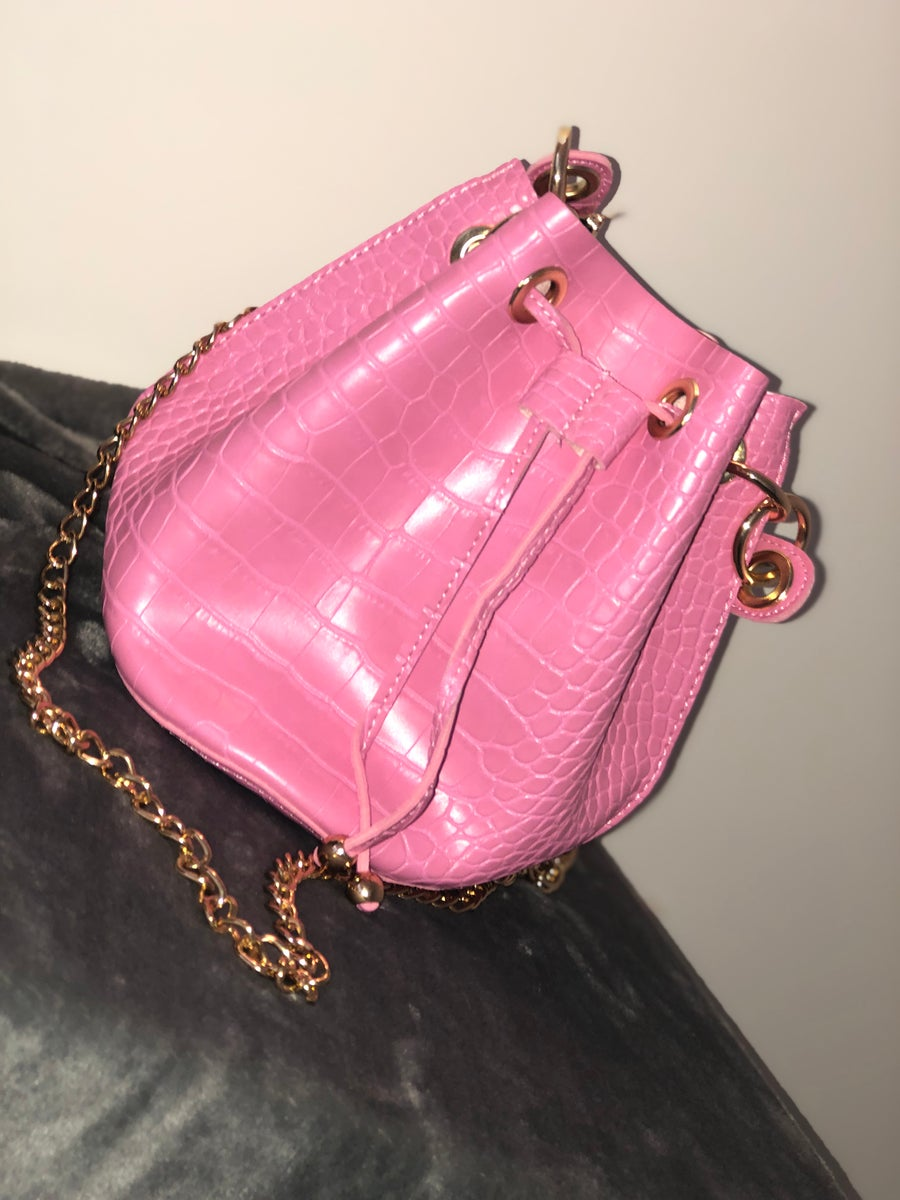 Image of Croc Bucket Bag
