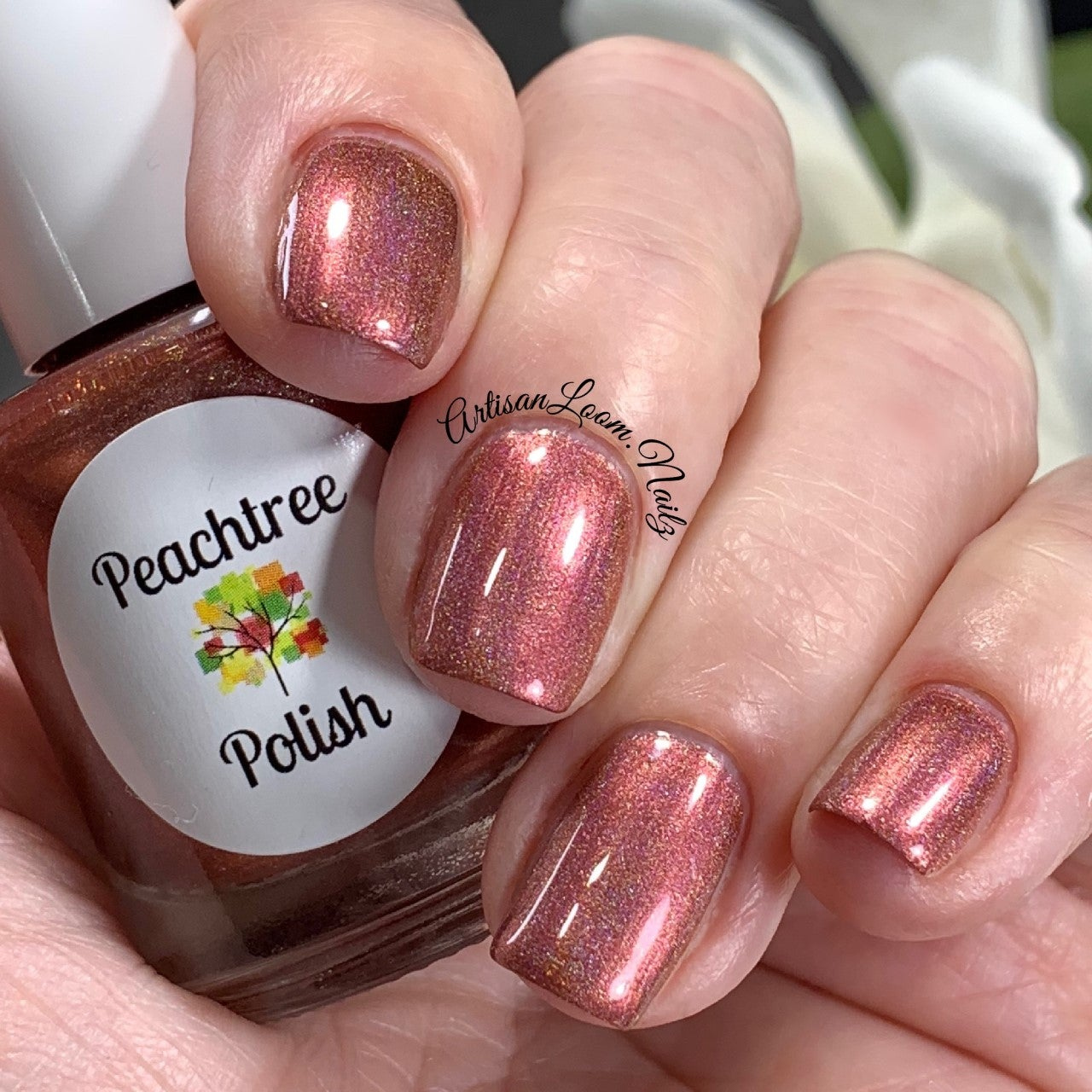 Image of Fire's Glow Nail Polish