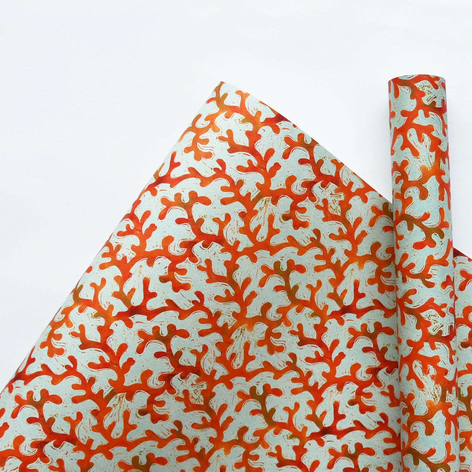 Image of Coral Wrapping Paper