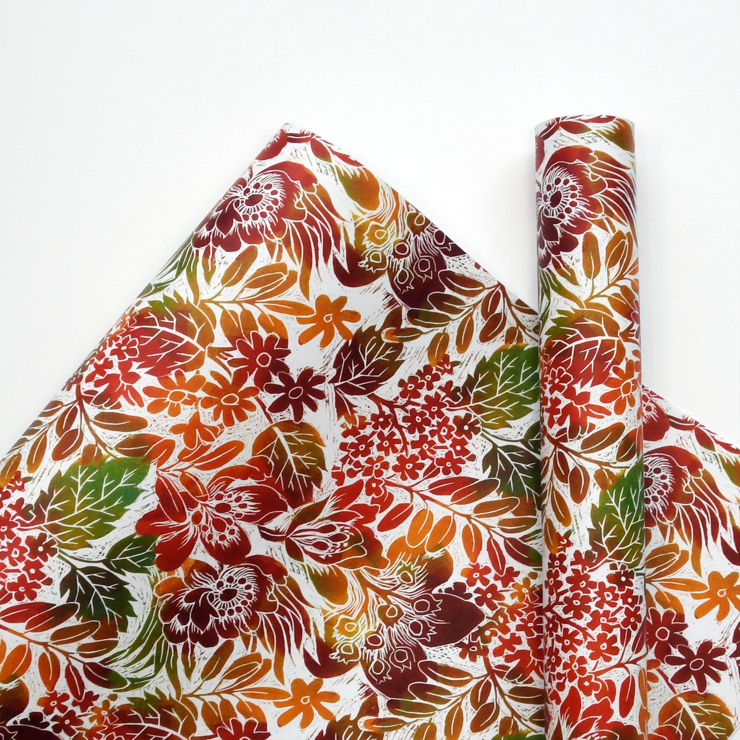 Image of Autumn Garden Wrapping Paper