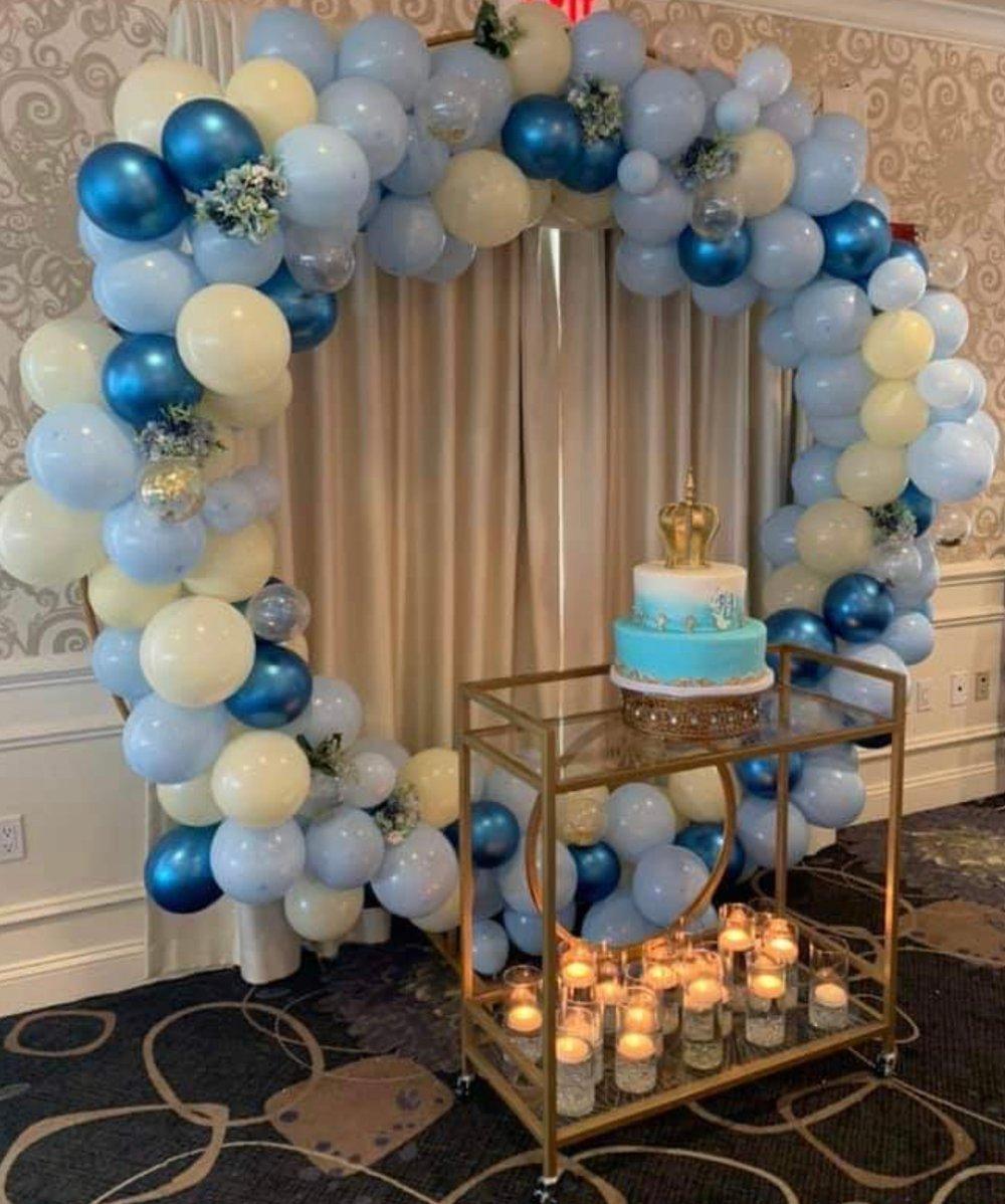 Balloon ring rental