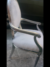 Set of bride and groom or birthday chairs