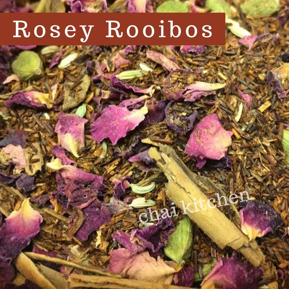 Image of Rosey Rooibos Chai Herbal Tea Blend