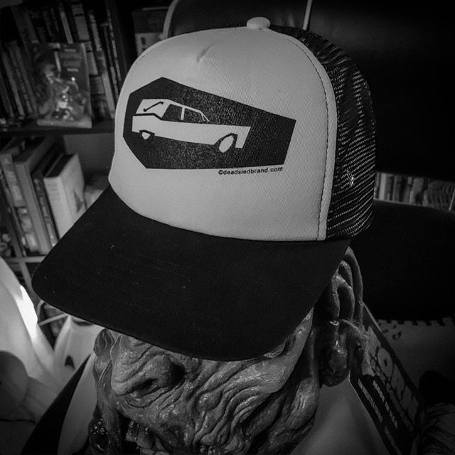 Image of Dead Sled Coffin Coach Trucker Hat