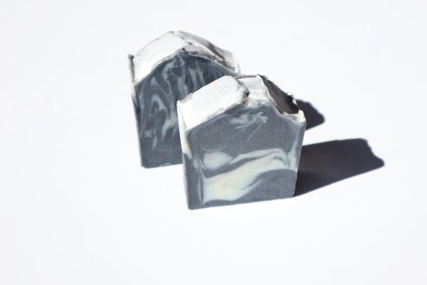 Image of Activated Charcoal and Avocado Detoxifying Body Bar