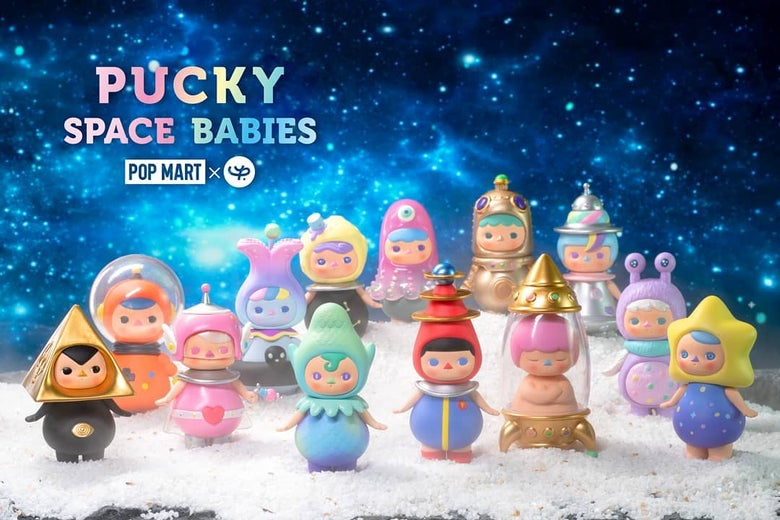 Image of Pucky x Popmart - Blindbox series : Space babies