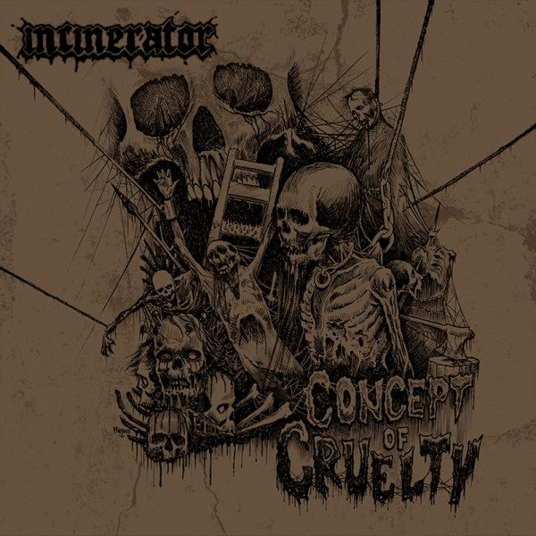 Image of Incinerator – Concept of Cruelty CD