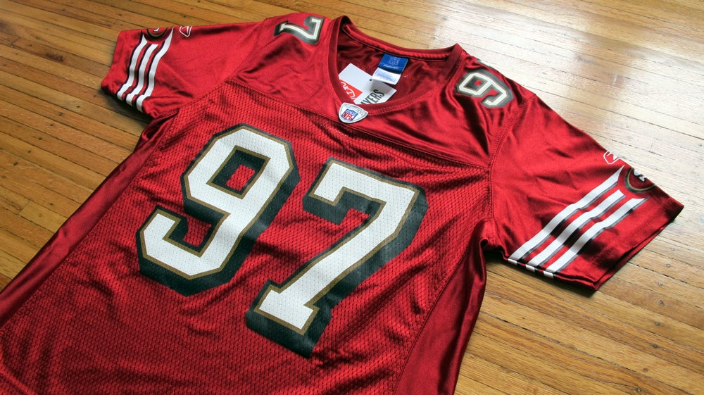 Vintage Women's 49ers Bryant Young Jersey by Reebok / Good Game ...