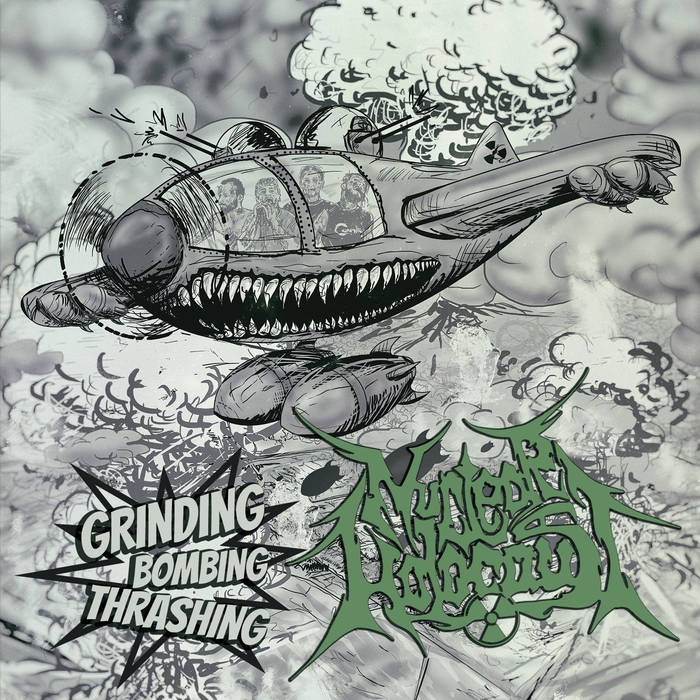 Image of  Nuclear Holocaust – Grinding Bombing Thrashing CD