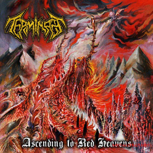 Image of Terminate – Ascending to Red Heavens CD