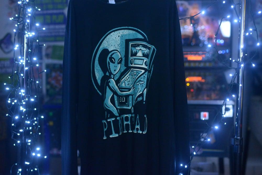 Image of Collection 2   LS. 01   Alien Long Sleeve Shirt (2 Varieties)