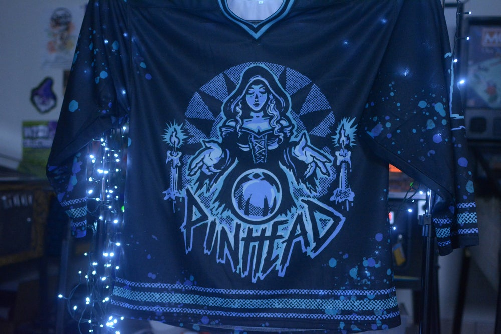 Image of Collection 2   J.03   Pinball Witch Hockey Jersey