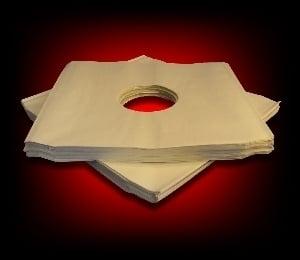 Image of 50 Sous-pochettes papier pour 33 Tours