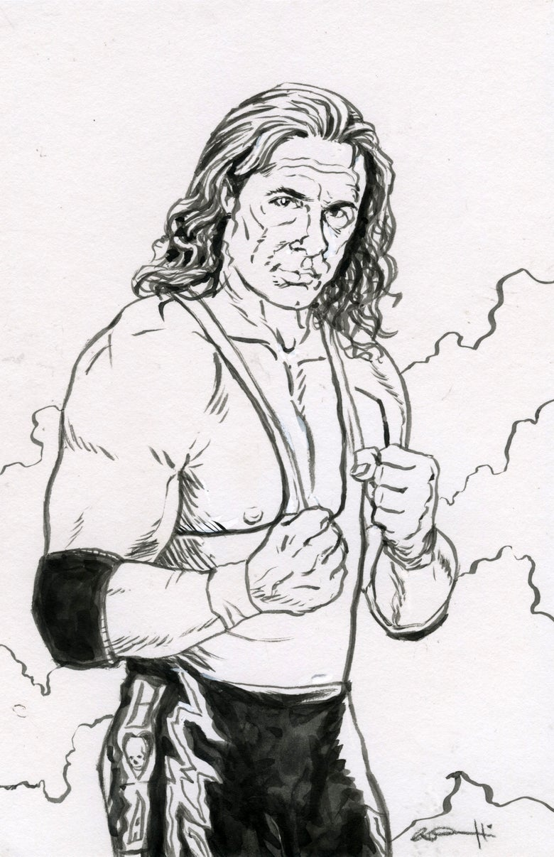 Image of WWF Sketch Cards Round 3
