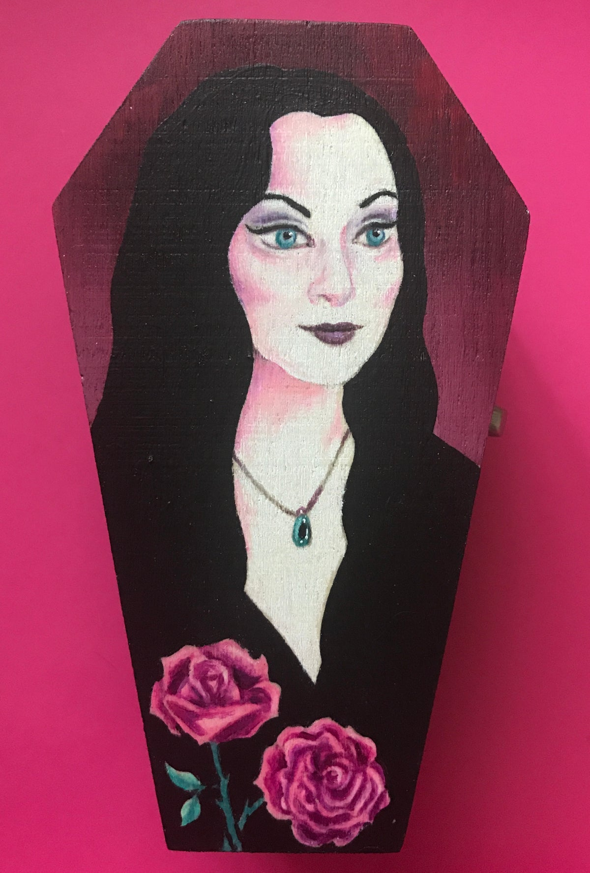 Image of Morticia Coffin Box