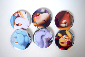 Image of Badge Button Set #1