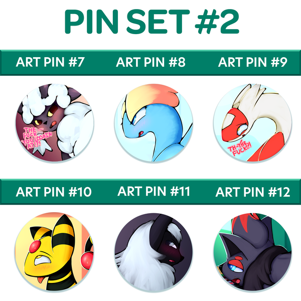 Image of Button Badge Set #2
