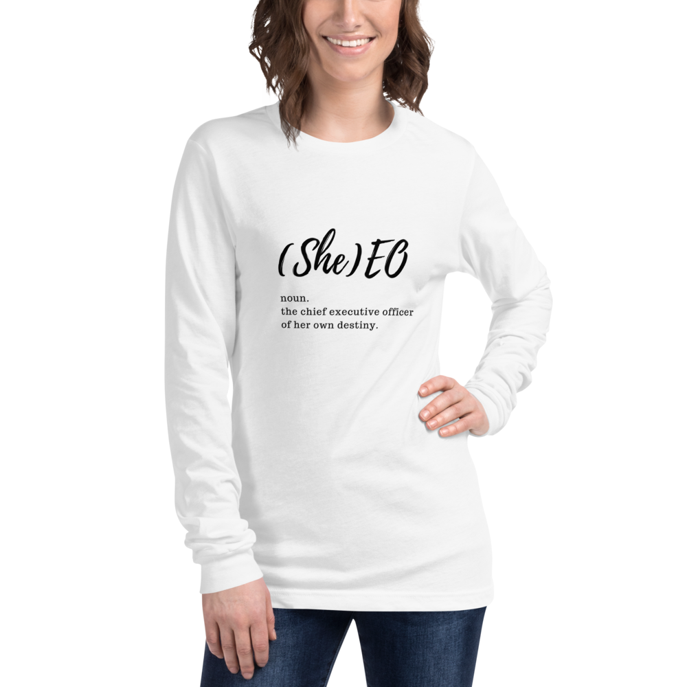Image of (She)eo Long Sleeve T-shirt