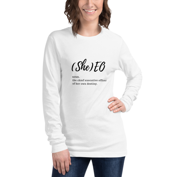 Image of (She)eo Long Sleeve T-shirt