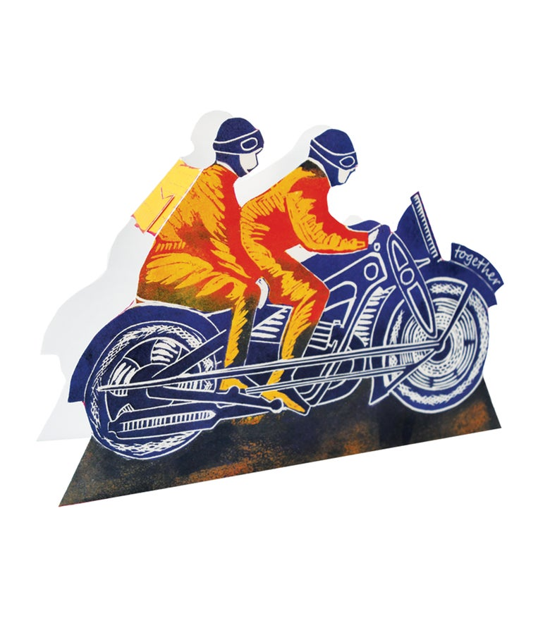 Image of Retro Motorbike 3D