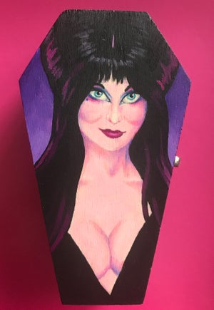 Image of Elvira Coffin Box