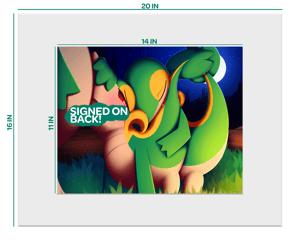 Image of Large 20x16 Framed Print