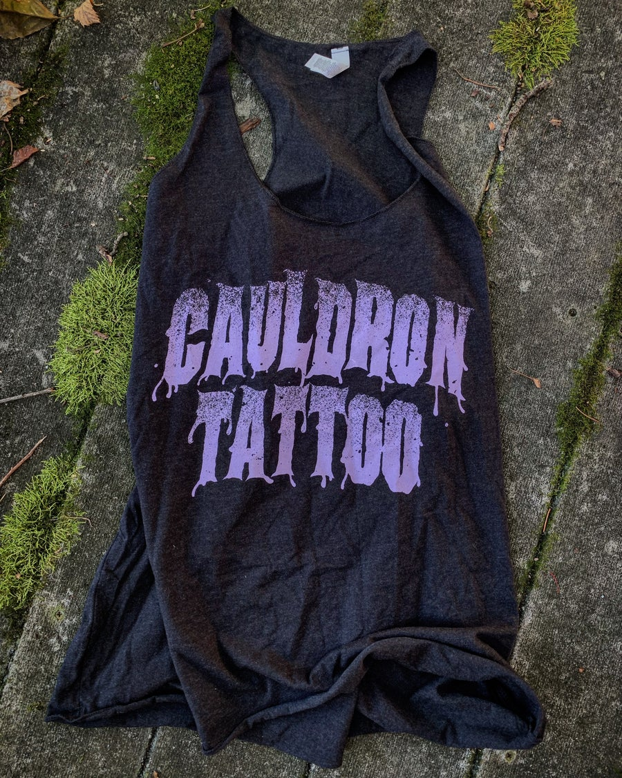 Image of CAULDRON TATTOO SLOUCHY TANK
