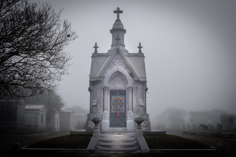 Image of Ziegler / New Orleans Cemetery Print