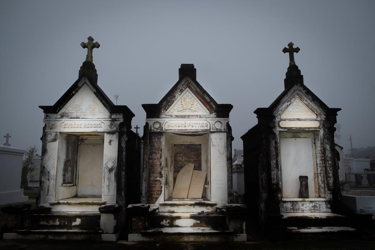 Reggio Pottier LaCoste / New Orleans Cemetery Print