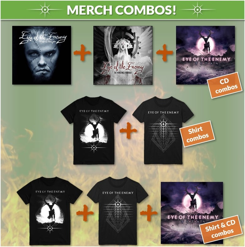 Image of Merch Combos - Starting from: