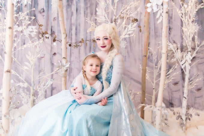 Image of ENCHANTED EVER AFTER PRINCESS PHOTOSHOOT EXPERIENCE- CINDERELLA, SNOW QUEEN, RAPUNZEL