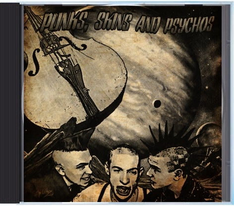 Image of Punks, Skins, and Psychos CD Various Artists