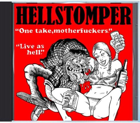"Image of Hellstomper ""One Take, Motherfucker"" LP"