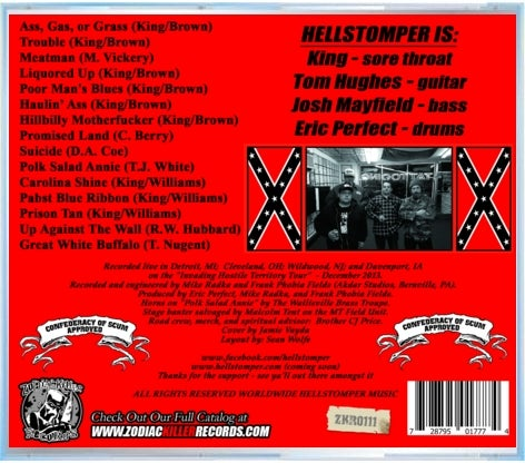 "Image of Hellstomper ""One Take, Motherfucker"" LP"