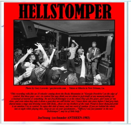 "Image of Hellstomper ""One Take, Motherfucker"" CD"