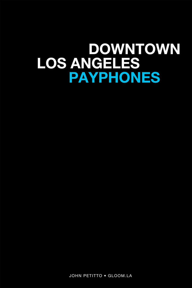 Image of Downtown Los Angeles Payphones
