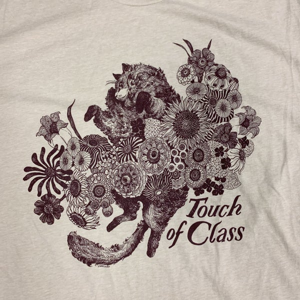 "Image of ""Touch of Class / Rick, With Flowers"" T-Shirts"