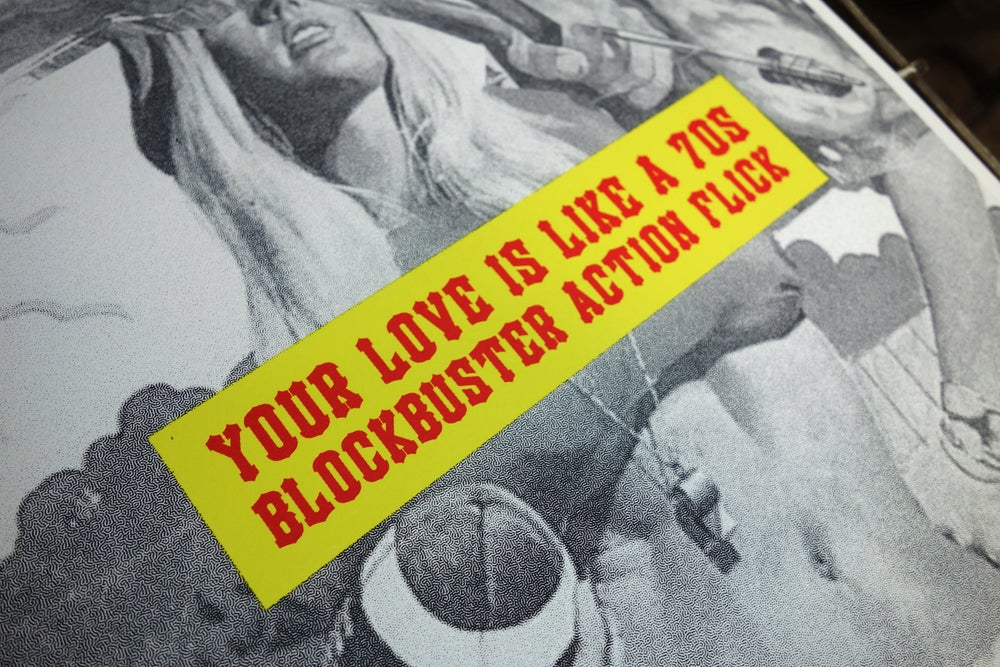 Your love is like... / Screen Print