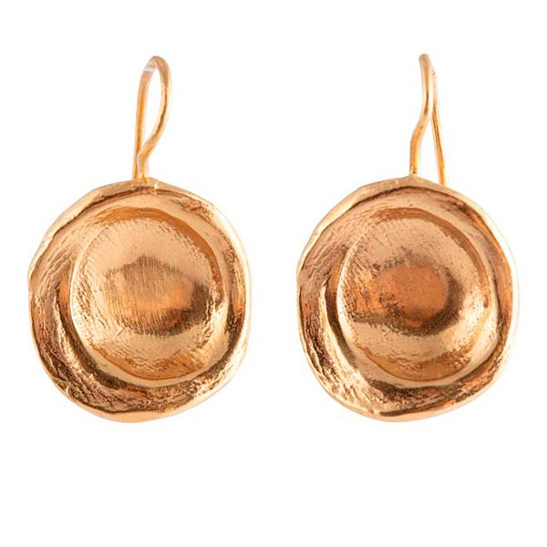 Image of Roma disc earrings
