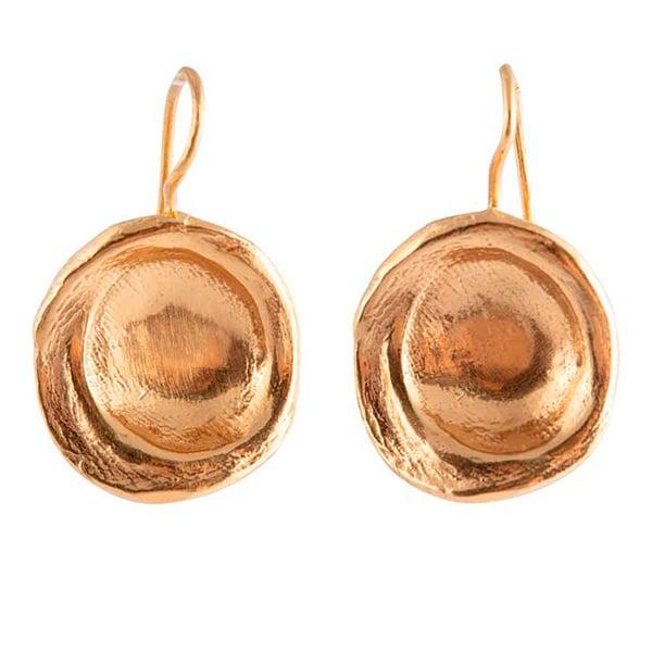 Image of Roma disc earrings