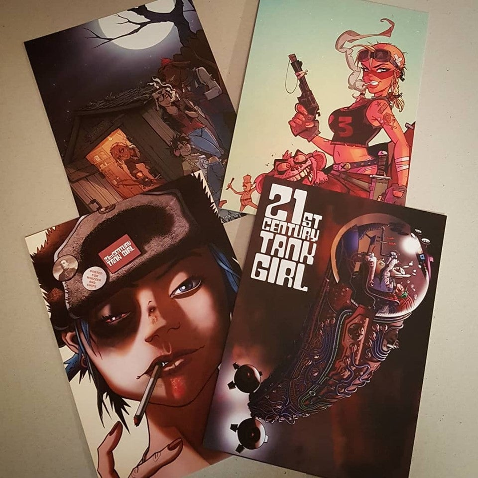 Image of 21st Century Tank Girl - Kickstarter Standard Edition (with prints!) Signed