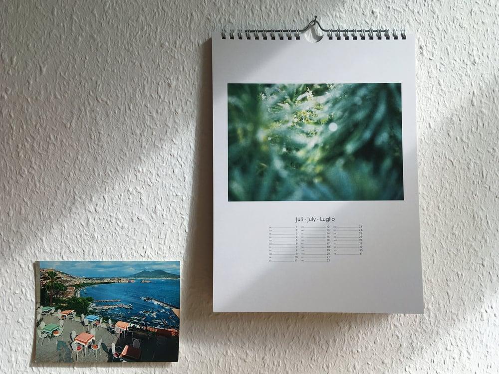Image of Wandkalender 2020 Special Edition Planten un Blomen Hamburg