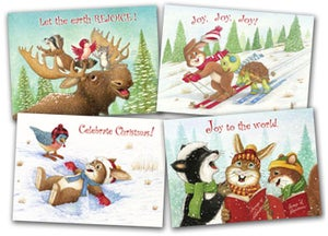 Image of CC07 CELEBRATE CHRISTMAS CARDS