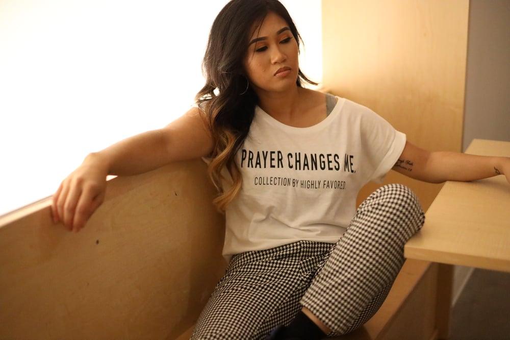 Image of Women's Prayer Changes Me Tee