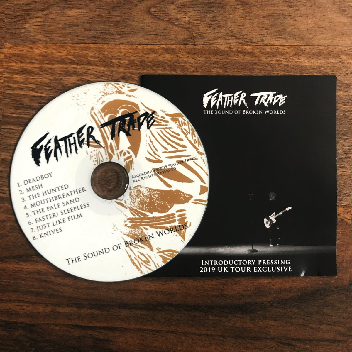 Image of 2019 UK TOUR EXCLUSIVE  - INTRODUCTORY PRESSING