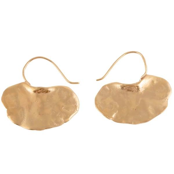 Image of Gingko unusual earrings